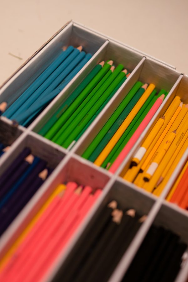 Pleasing pencils in a box