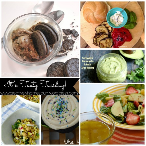 Tasty Tuesday Link Party! #Creativelyhomespun #tastytuesday #food