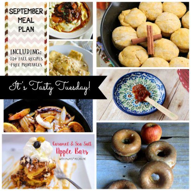 It's Tasty Tuesday! 9/8 #linkup #roundup #fallrecipes