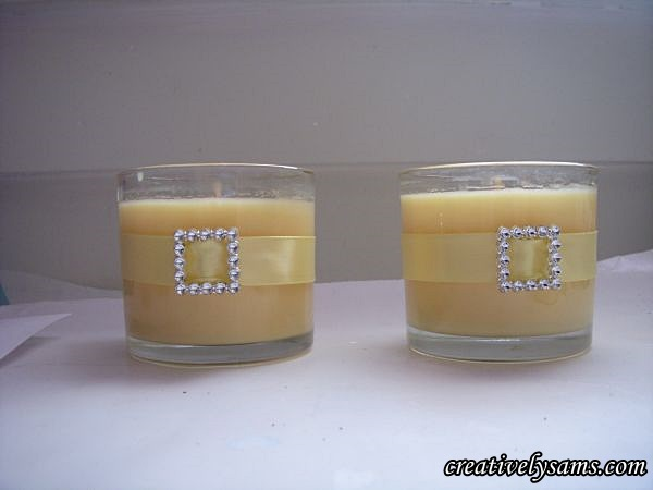 How To Decorate Candle Holders With Ribbon Art Ideas Crafts