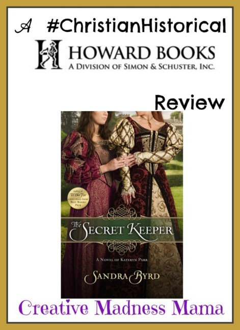 The Secret Keeper by Sandra Byrd #amreading #christianhistorical #book #review