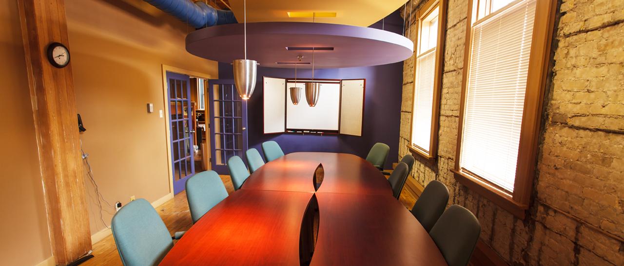 Creative Manitoba board room