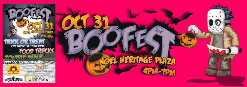BooFest 2015 Marketing Materials