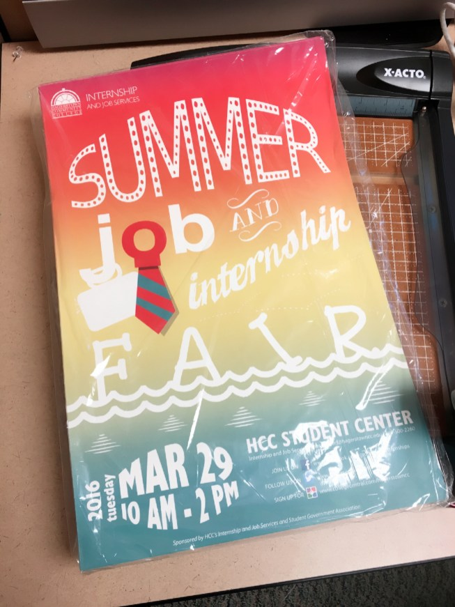 hcc-summer-job-internship-fair-poster-print