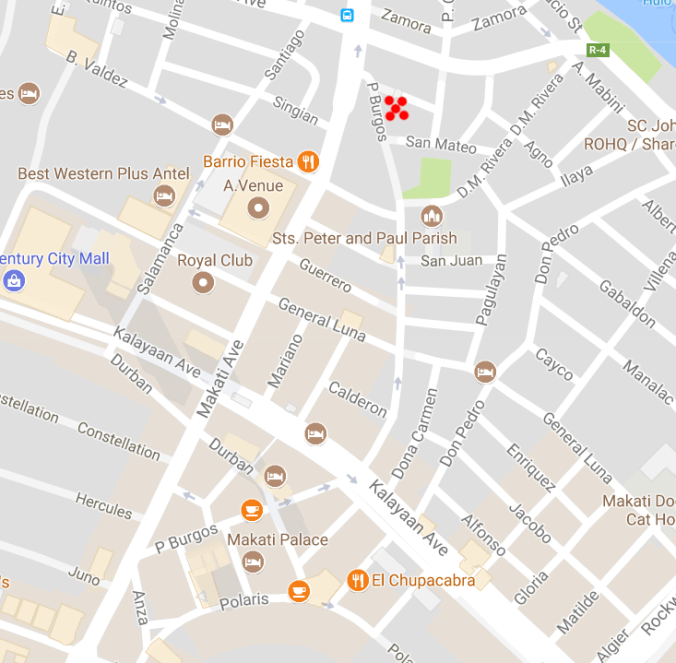 Kanto Freestyle location in Makati City