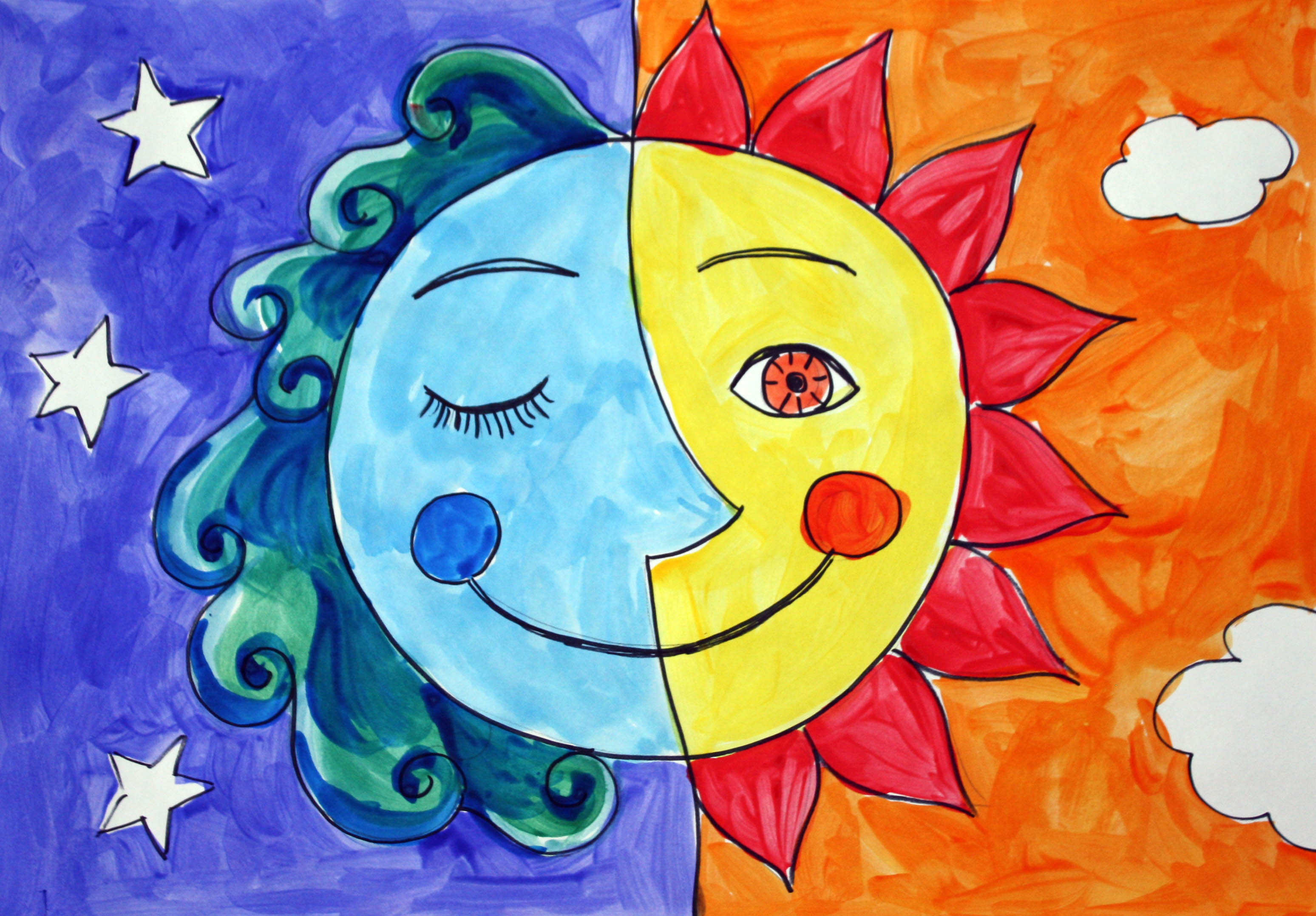 Creativemoonlearning Cool And Warm Colors