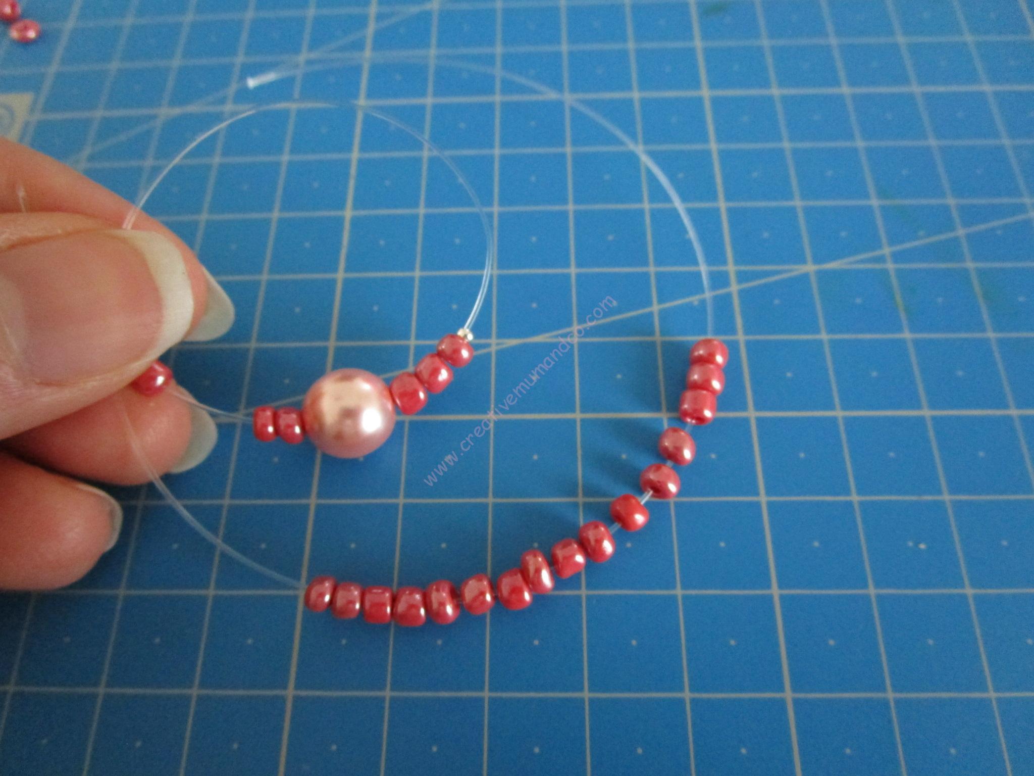 perles de rocailles création