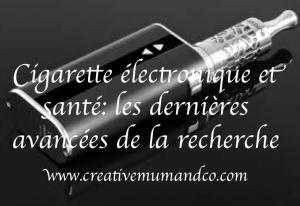 e-cigarette et santé