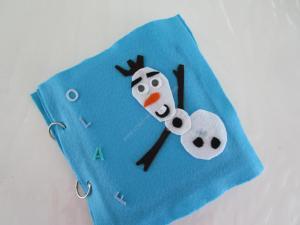 Quiet Book Olaf