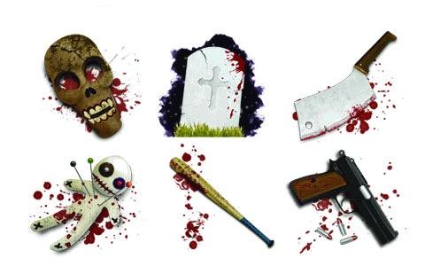 horror-icon-set