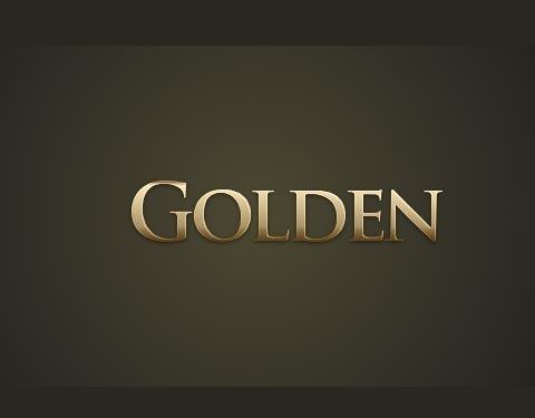 golden-effect-text