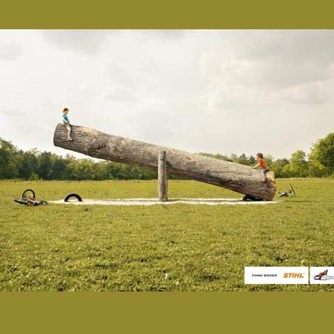 seasaw 100 Most Funny and Creative Advertisement Designs