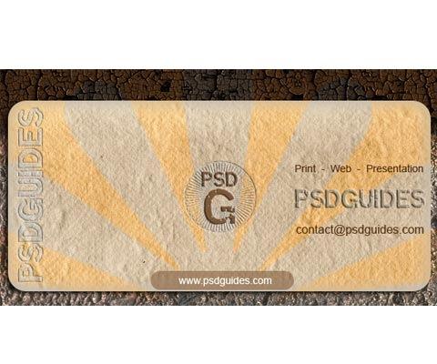 grunge-businnes-card