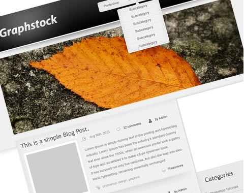 graphy-srock-wordpress-mocklup