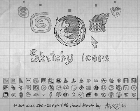 sketchy-icons