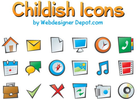 childish-icons