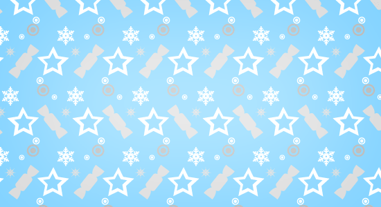 festive-blue-christmas-pattern
