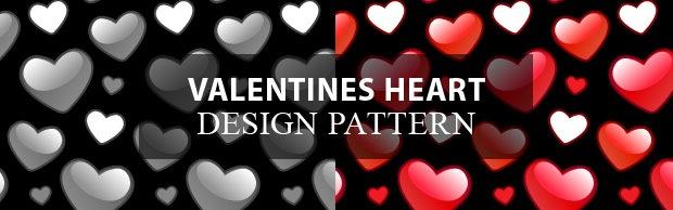valatines-heart-banner-design