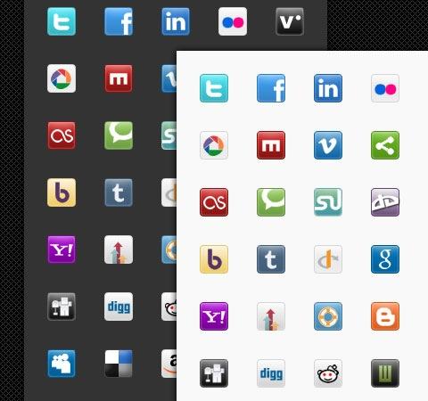 social-media-icon-set