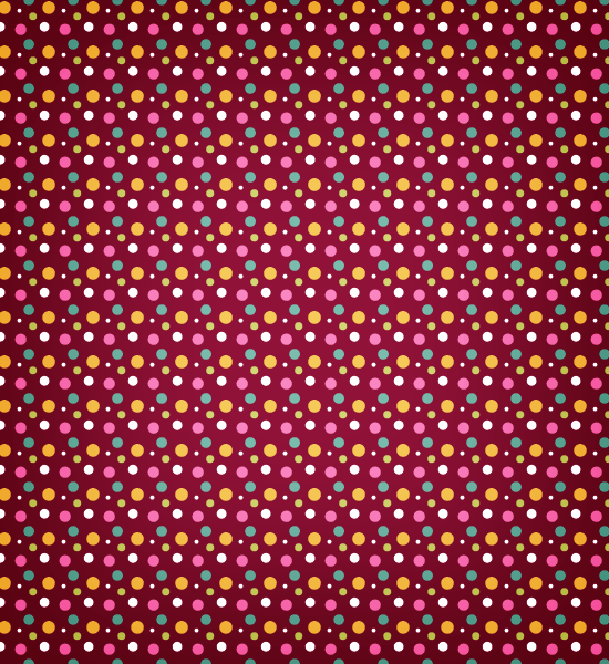 red-polka-pattern