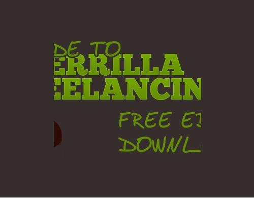 gurillafreelancing 20 Free E books For Web Designers