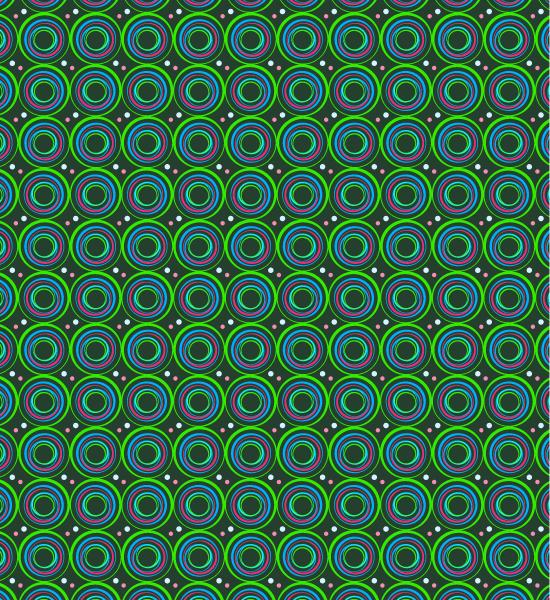 vibrant-green-circle-pattern