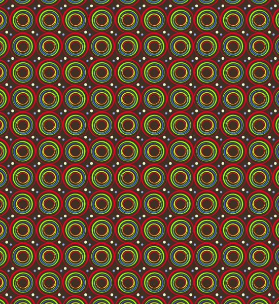 vibrant-red_green-circle-pattern