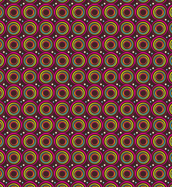 vibrant-red-circle-pattern