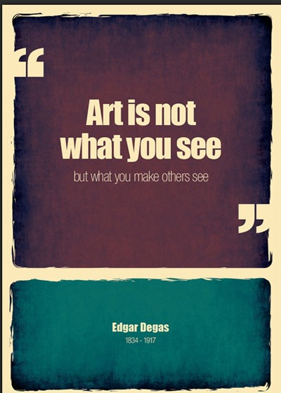 art-is-not-what-you-see