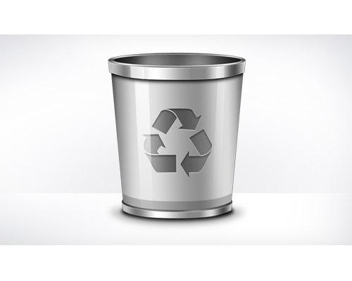 recylebinpsdicon 50 Free 3D High Quality PSD File Icons