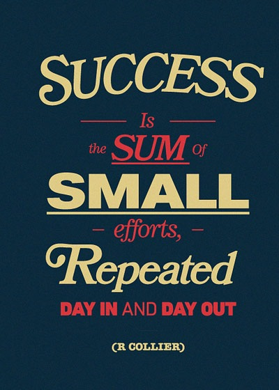 succes-sum-small-effort
