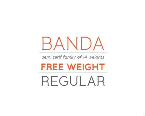 banda-free-font