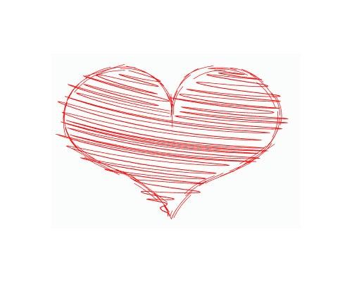 heart-sektch