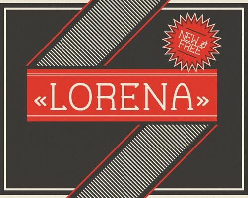 lorena-font