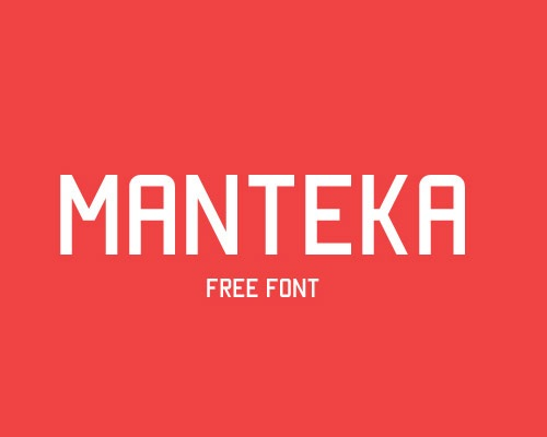 manteka-free-font