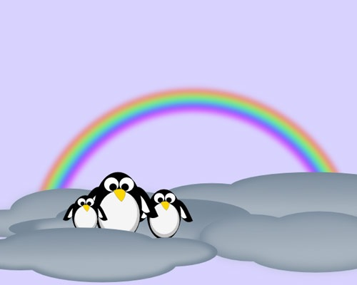 rainbow-penguin