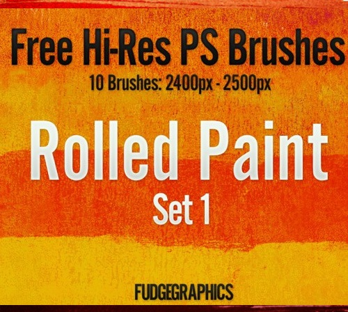 rolled-paint-brush