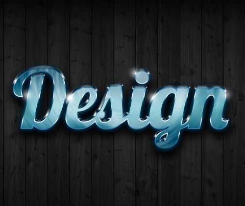 glossy-text-effect