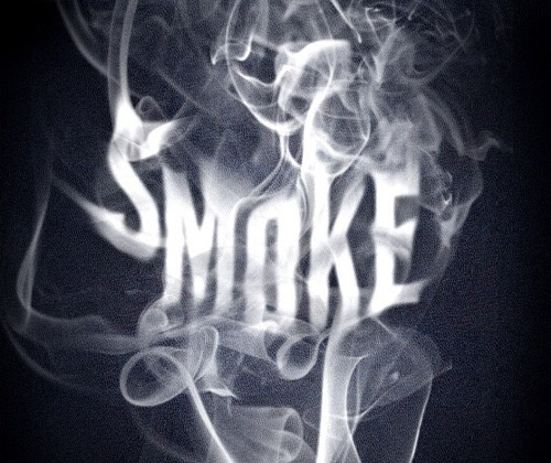 smoke-text