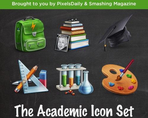 academic-icon-set