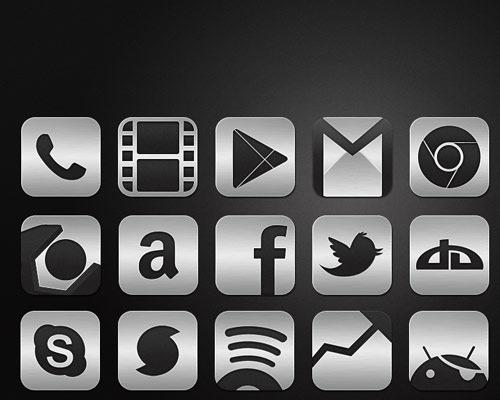 metalic-icon