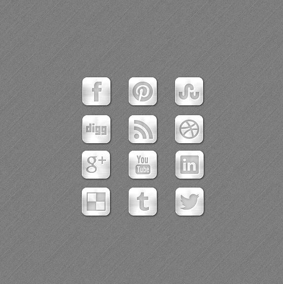 metal-social-media-icons