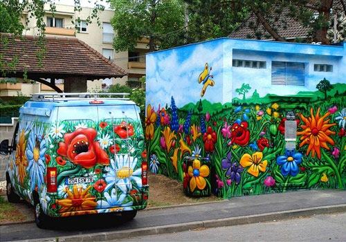 grafit-flower-street-art
