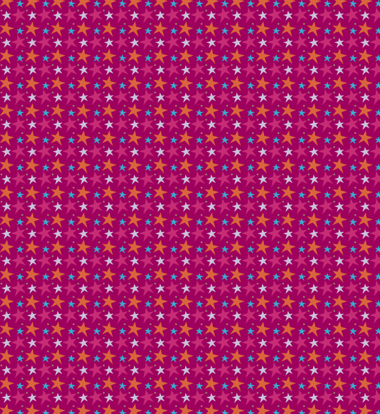 funky-vibrant-purple-star-pattern