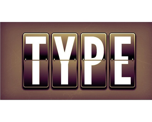type-display