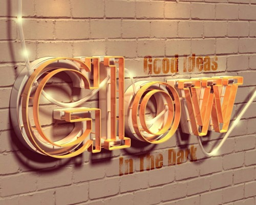 30 Best Ever Photoshop Tutorials For Creating 3D Text