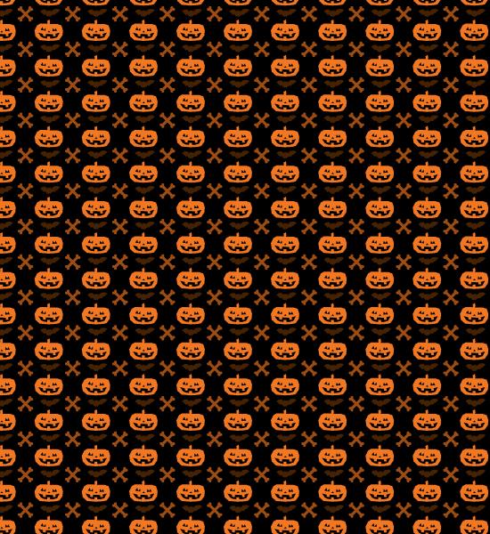 halloween-cross-bone-pattern