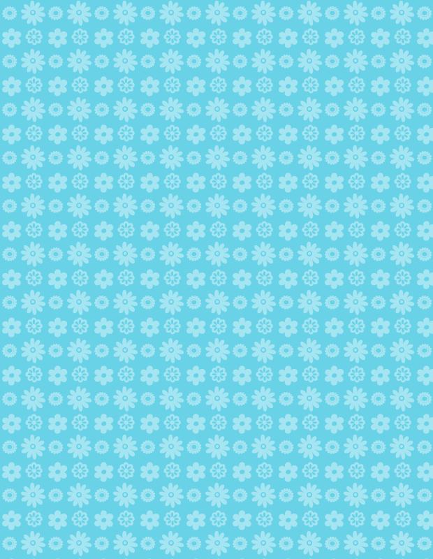 blue-petal-pattern