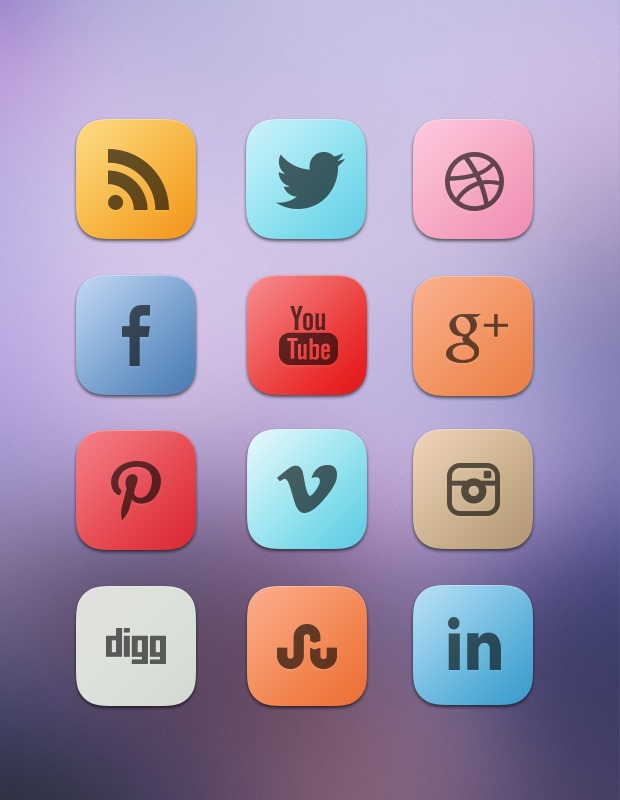 clean-curved-social-icons
