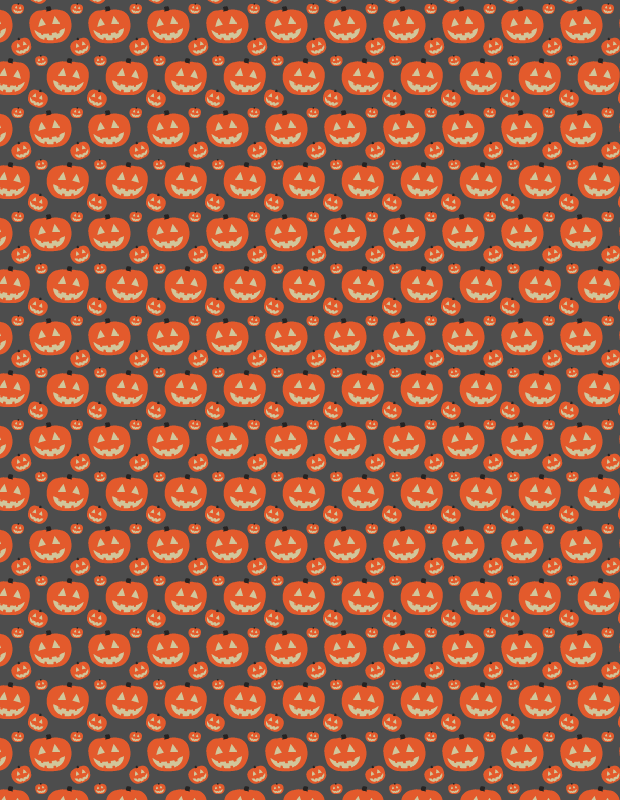black-pumkin-pattern